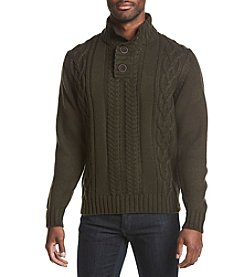 Weatherproof Vintage Men's Mock Neck Sweater