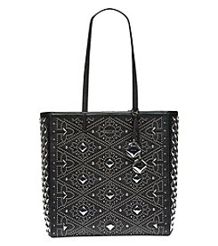 Calvin Klein Avery Studded Leather Tote