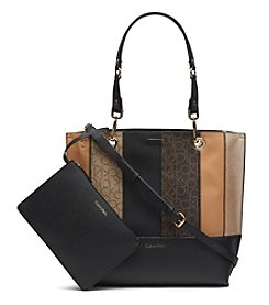 Calvin Klein Patchwork Reversible Tote
