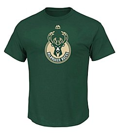Majestic NBA® Milwaukee Bucks Men's Supreme Logo Tee