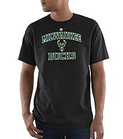 Majestic NBA® Milwaukee Bucks Men's Heart And Soul Tee