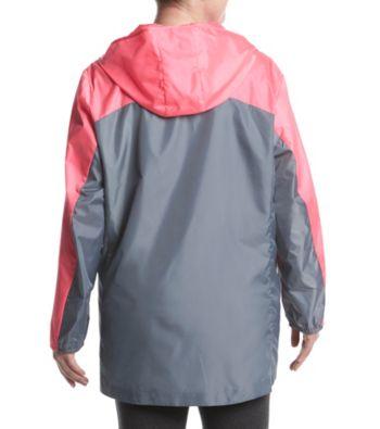 95cc3bc34b Exertek Plus Size Colorblock Design Zip Closure Jacket