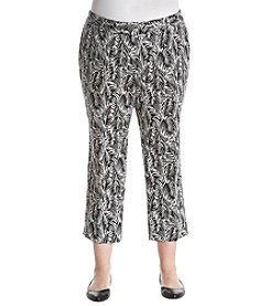MICHAEL Michael Kors Plus Size Cropped Cigarette Pants