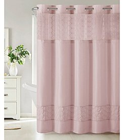 Hookless Downtown Soho Shower Curtain with PEVA Liner