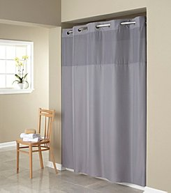 Hookless Mystery Shower Curtain with PEVA Liner