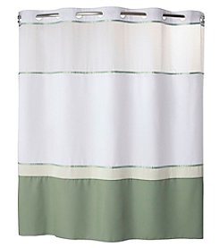 Hookless Windsor Shower Curtain with PEVA Liner