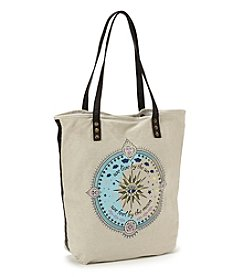 Twig & Arrow Placed Print Tote