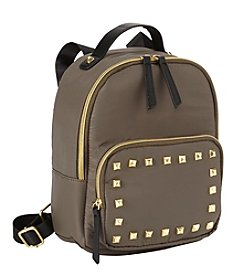 T-Shirt & Jeans Nylon Studded Backpack