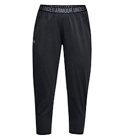 Under Armour Logo Detail Cropped Stretch Pants