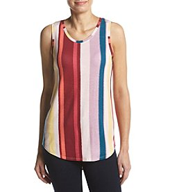 Ruff Hewn GREY Stripe Tank Top