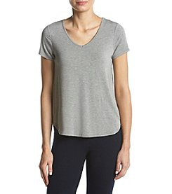 Ruff Hewn GREY Heather Pattern V-Neck Tee