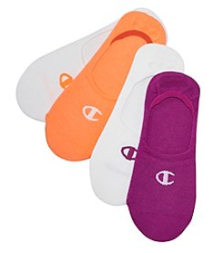 Champion 4-Pack Invisible Liner Socks