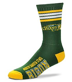 For Bare Feet NCAA® North Dakota State Bison Men's 504 Crew Socks