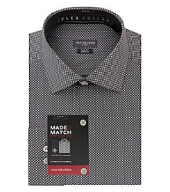 Van Heusen Men's Long Sleeve Slim Fit Flex Dress Shirt
