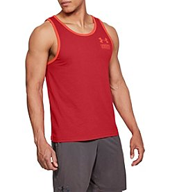Under Armour Men's UA Stacked Left Chest Logo Tank