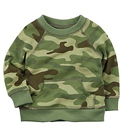 Carter's Baby Boys' Camo French Terrry Pullover Sweatshirt