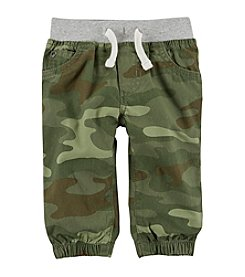 Carter's Baby Boys' Camo Pull On Canvas Joggers