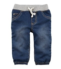Carter's Baby Boys' Pull On Faux Denim Joggers