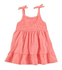 OshKosh B'Gosh Baby Girls' Sleeveless Embroidered Dress
