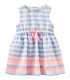 OshKosh B'Gosh Baby Girls' Sleeveless Striped Dress