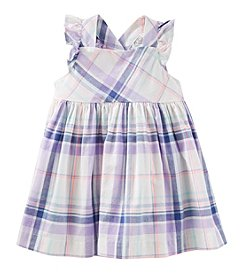 OshKosh B'Gosh Baby Girls' Plaid Cross Back Dress