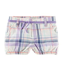 OshKosh B'Gosh Baby Girls' Plaid Bubble Shorts