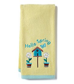 Living Quarters Hello Spring Hand Towel