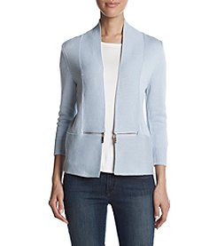 Ivanka Trump Zip Side Detail Sweater