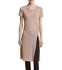 Hippie Laundry High Slit Tunic Tee