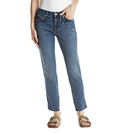 Free People Slim Boyfriend Jeans