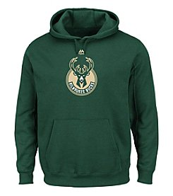 Majestic NBA® Milwaukee Bucks Men's Supreme Logo Pullover Hooded Sweatshirt