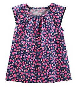 Oshkosh B'Gosh Girls' 2T-5T Flutter Sleeve Strawberry Top
