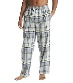 John Bartlett Statements Men's Plaid Print Woven Sleep Pants