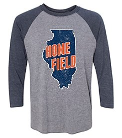 Home Field Clothing Co. Men's Home Field Chicago Raglan Sleeve Tee