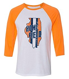 Home Field Clothing Co. Men's Home Field Illinois Raglan Sleeve Tee