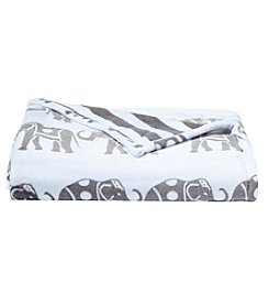 Living Quarters Reversible Luxe Plush Throw