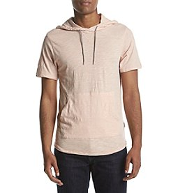 DVISION Men's Short Sleeve Hooded Shirt