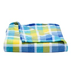 Living Quarters Plaid Micro Cozy Throw