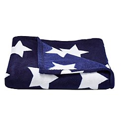 Living Quarters Patriotic Star Micro Cozy Throw