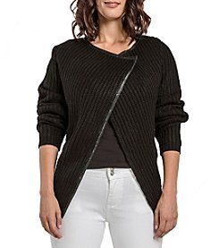 Miss Halladay Wrap Knit Sweater