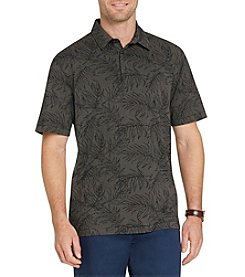 Van Heusen Men's Big & Tall Short Sleeve Air Print Polo Shirt