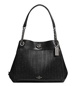 COACH EDIE SHOULDER BAG IN QUILTED LEATHER