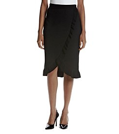 Ivanka Trump Tulip Hem Sweater Skirt