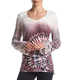 Oneworld Tie Dye Beyond Limits Top