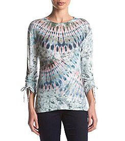 Oneworld Tie Sleeve Top