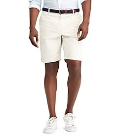 Chaps Men's Big & Tall Flat Front Stretch Short