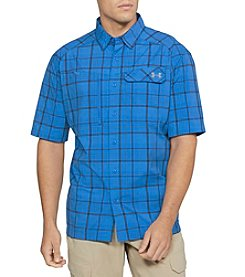 Under Armour Men's Fish Hunter Plaid Shirt