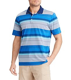 Chaps Men's Striped Golf Polo