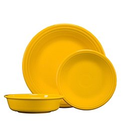 Fiesta 3-pc. Classic Dinnerware Set