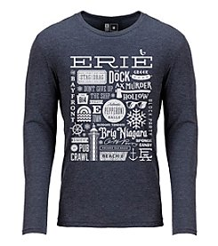 Erie Apparel Erie Collage Long Sleeve Tee